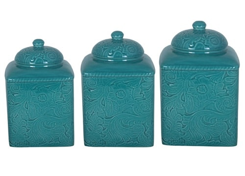 turquoise kitchen canister 0-min