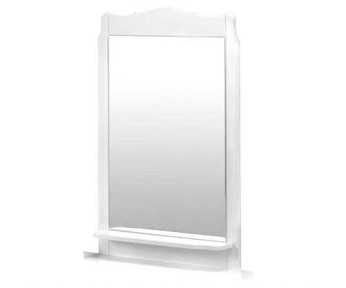 white mirrors for bathroom