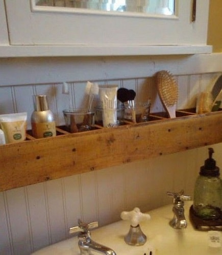 wood pallet bathroom decoration ideas 11