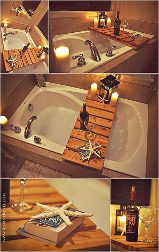 wood pallet bathroom decoration ideas 13