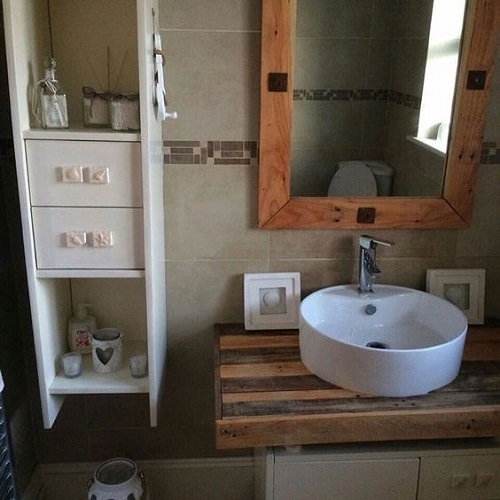 wood pallet bathroom decoration ideas 18