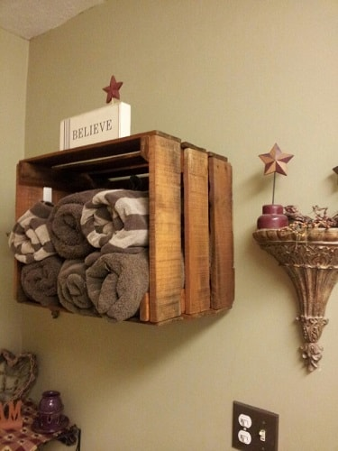 wood pallet bathroom decoration ideas 6