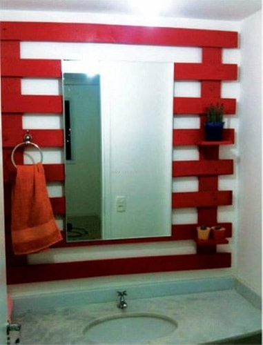 wood pallet bathroom decoration ideas 9