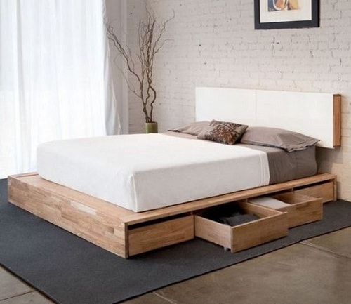 20+ Most Inspiring Wood Pallet Bedroom Ideas You Have To Try on Pallet Bed Room Ideas  id=72821