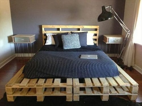 wood pallet bedroom ideas 15