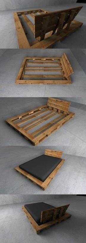wood pallet bedroom ideas 16