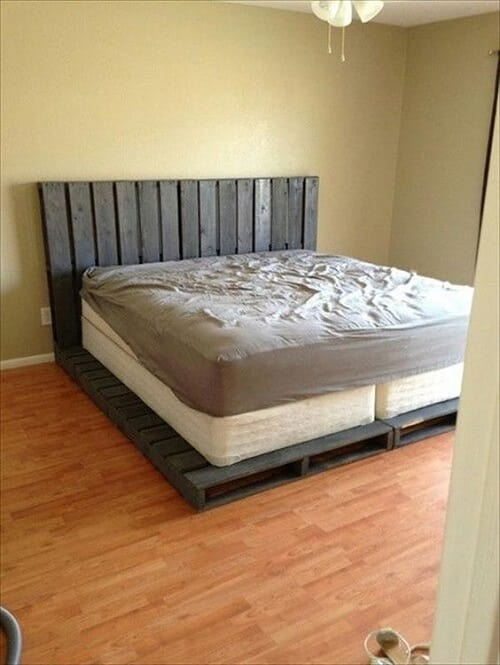 wood pallet bedroom ideas 5