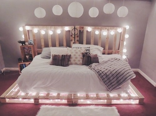 20+ Most Inspiring Wood Pallet Bedroom Ideas You Have To Try on Pallet Bedroom Design  id=51364