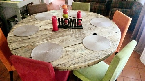 wood pallet dining table ideas 11-min