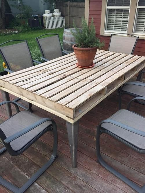 wood pallet dining table ideas 12-min