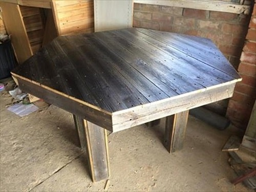 wood pallet dining table ideas 13-min