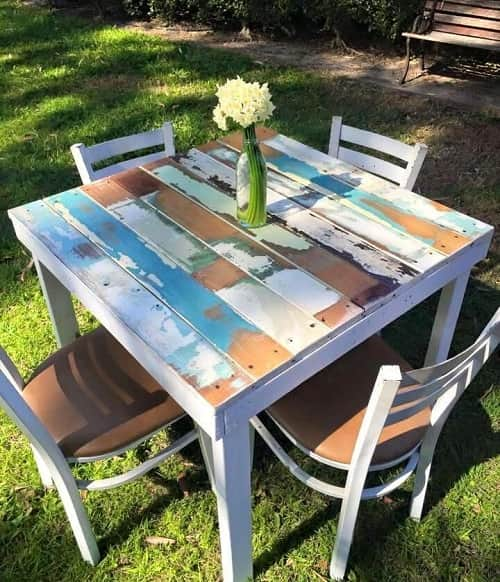 wood pallet dining table ideas 14-min