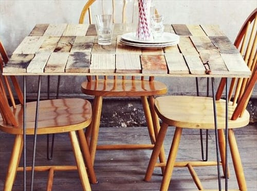 wood pallet dining table ideas 16-min