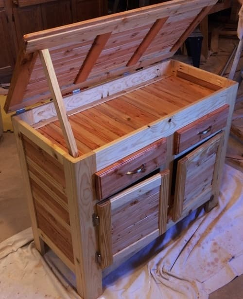 Kitchen Island Out Of Pallets: 15+ Creative & Gorgeous Wood Pallet Kitchen Island Ideas