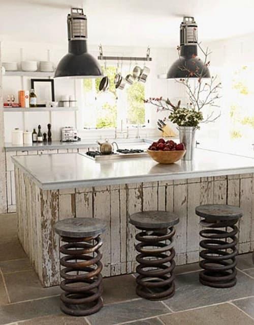 wood pallet kitchen island 8