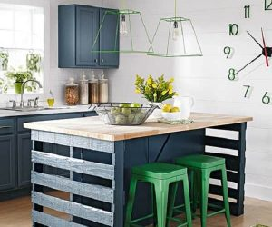 wood pallet kitchen island feature-min