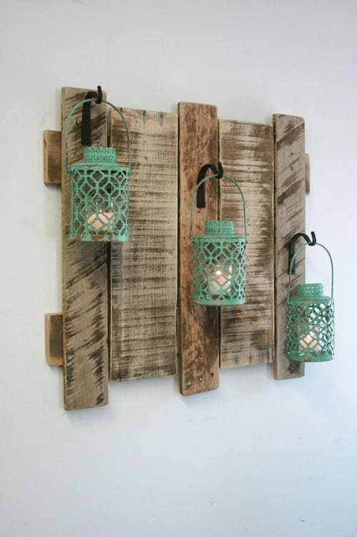 wood pallet wall decoration ideas 1