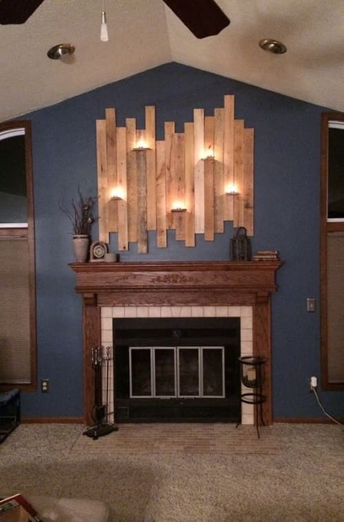 wood pallet wall decoration ideas 10