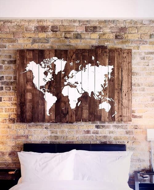wood pallet wall decoration ideas 11