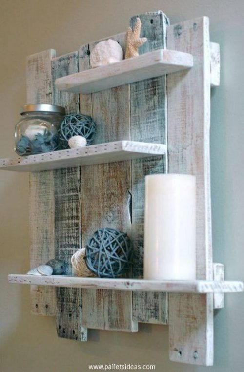 wood pallet wall decoration ideas 14