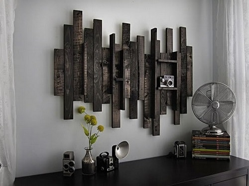 wood pallet wall decoration ideas 2