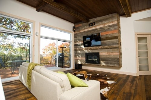 wood pallet wall decoration ideas
