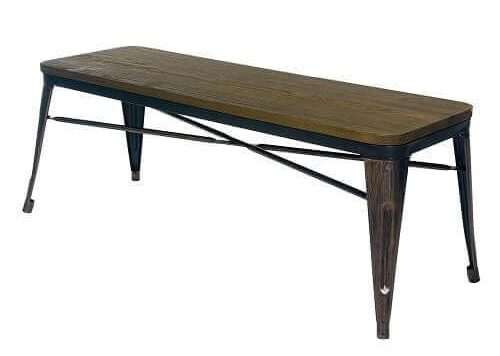 wooden bench for kitchen table 1