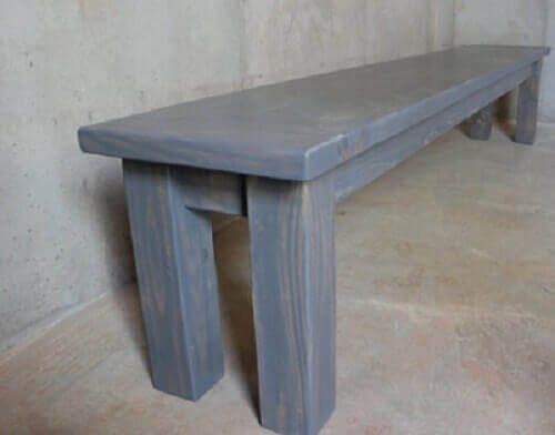 wooden bench for kitchen table 14
