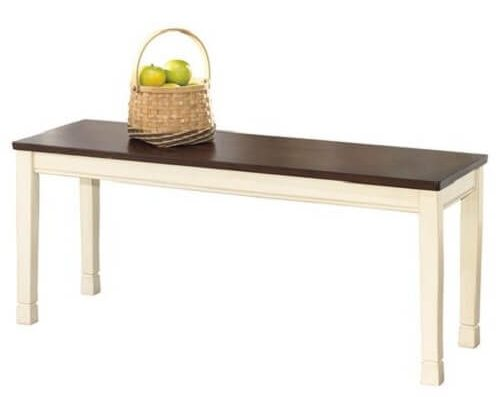 wooden bench for kitchen table 2