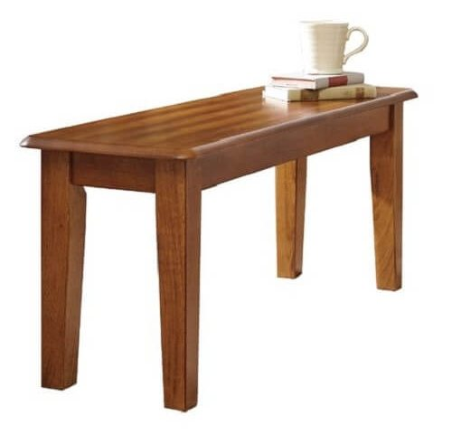 wooden bench for kitchen table 9