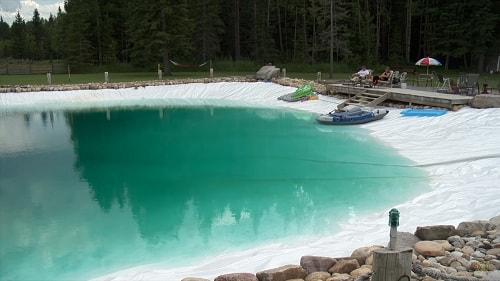 This Is How A 1.2 Million Liter Backyard Pond Looks Like ...