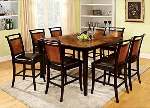 7 Piece Counter Height Dining Room Sets 6
