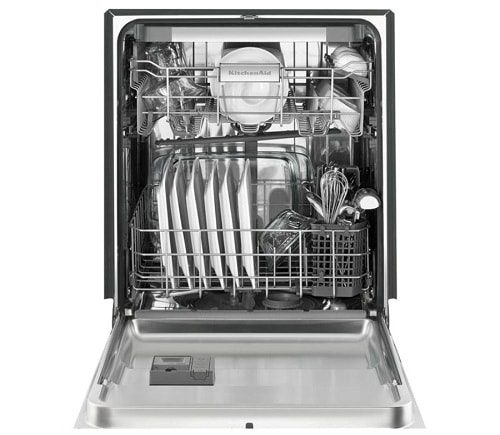 Black Stainless Steel 39 DBa Dishwasher 3