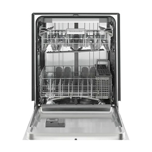 Black Stainless Steel 39 DBa Dishwasher 4