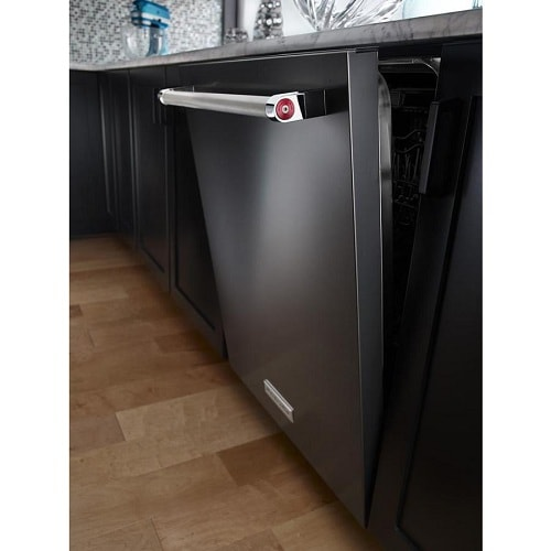 Black Stainless Steel 39 DBa Dishwasher