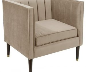 Channel Tufted Arm Chair
