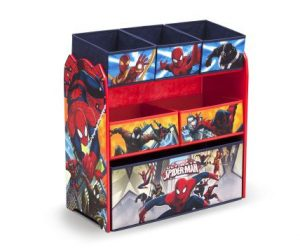 Spiderman Multi-bin Toy Organizerr