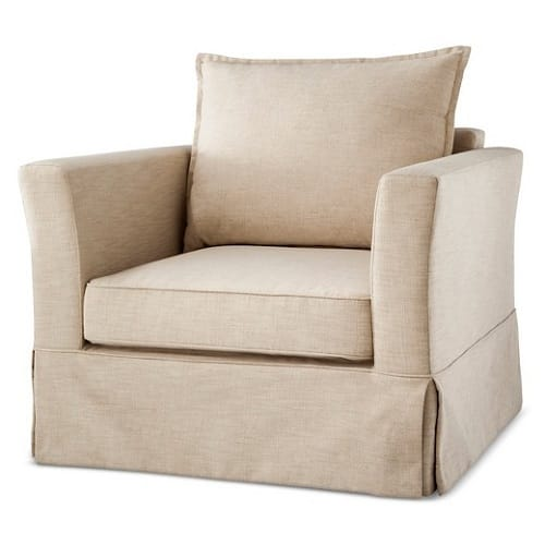. Living Room Chairs Target   Freeland Arm Chair Review