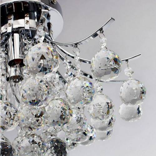 Homcom 3 Lights Chandelier