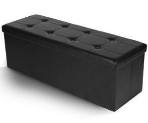 Leather Collapsible Bench