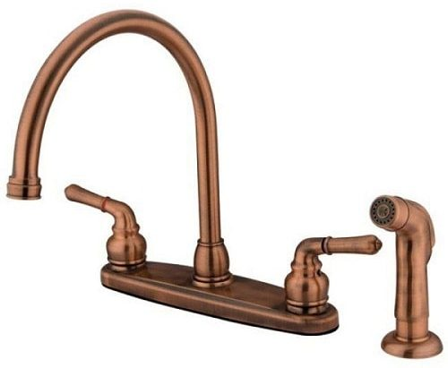 Magellan Double Handle Kitchen Faucet 1