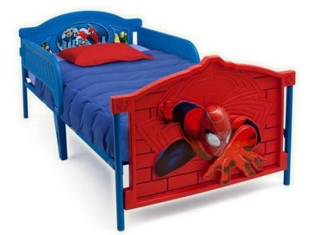 Marvel Spiderman 3D Twin Bed