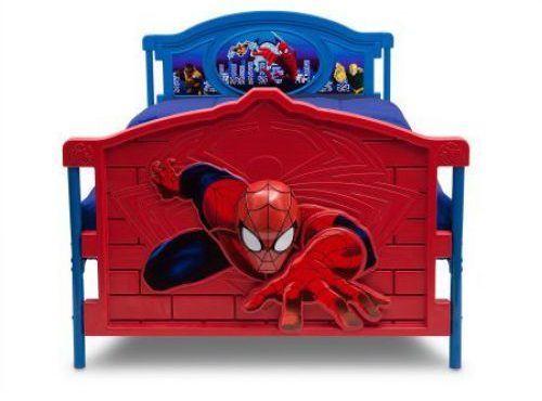 Marvel Spiderman 3D Bed