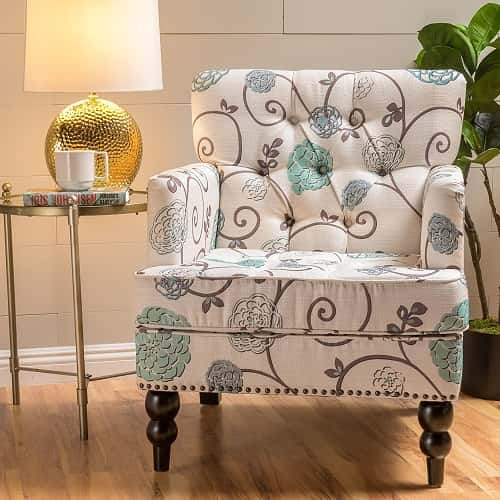 Patterned Living Room Chairs