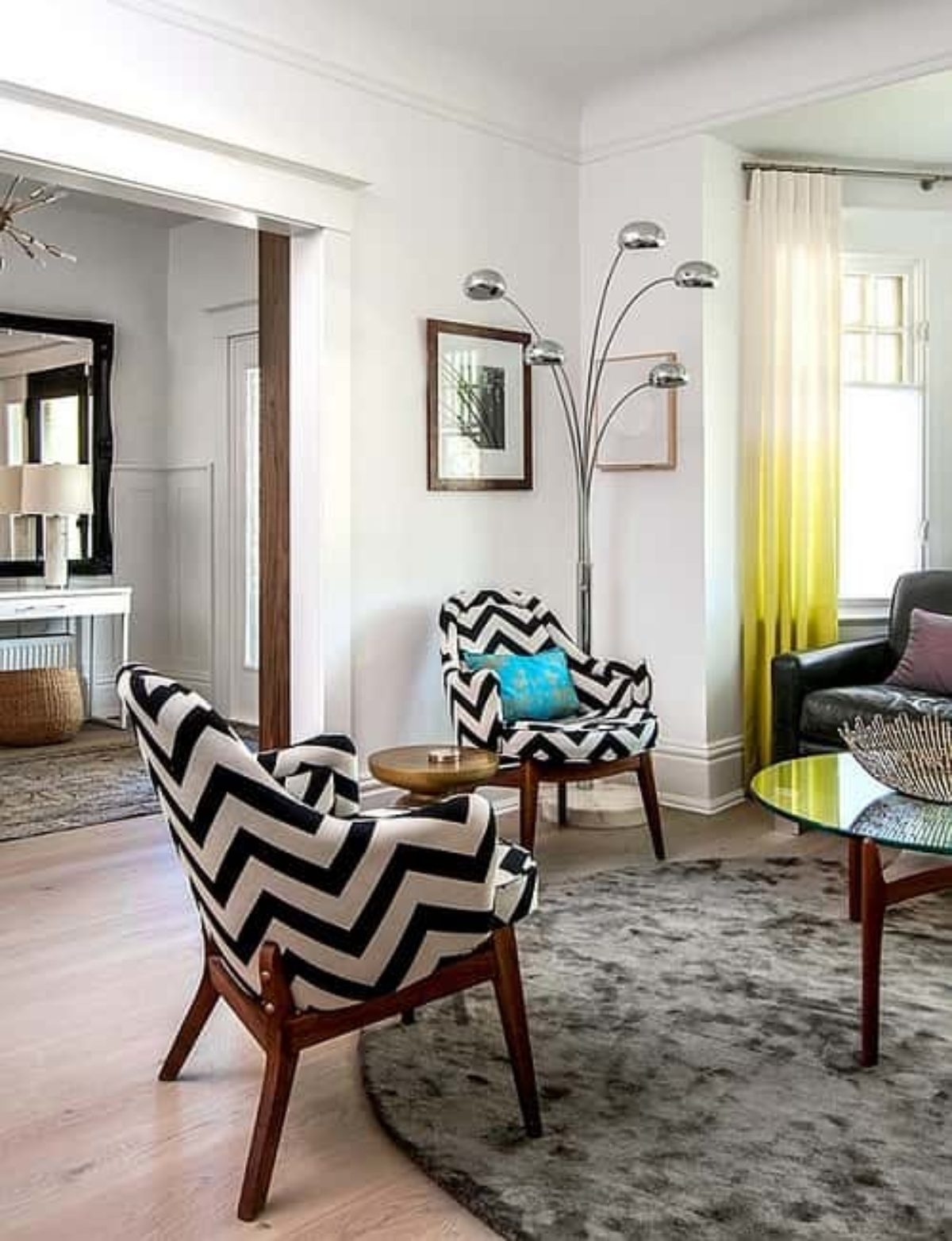 Top 10 Super Fun Patterned Living Room Chairs On Amazon
