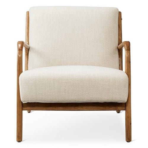 Rodney Wood Arm Chair