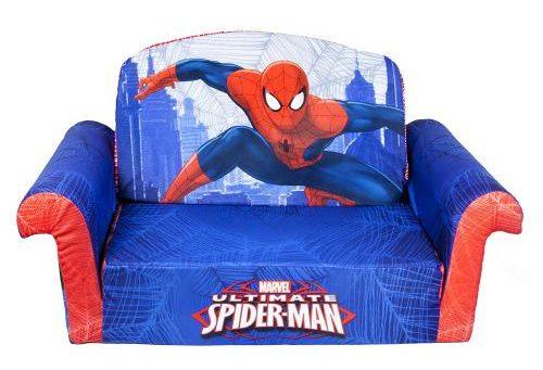 Spiderman Bedroom Furniture | Spiderman Flip Open Foam Sofa