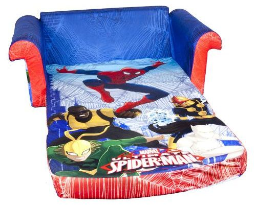 Spiderman Flip Open Foam Sofa