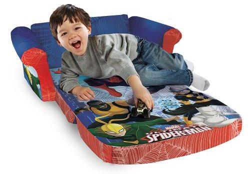 Spiderman Flip Open Foam Sofa