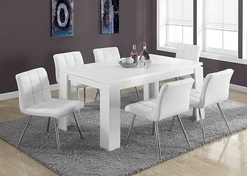 5+ Best Modern White Dining Room Table Under 0 On Amazon